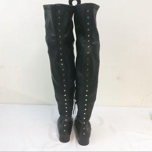 Black Zara Riding Boots